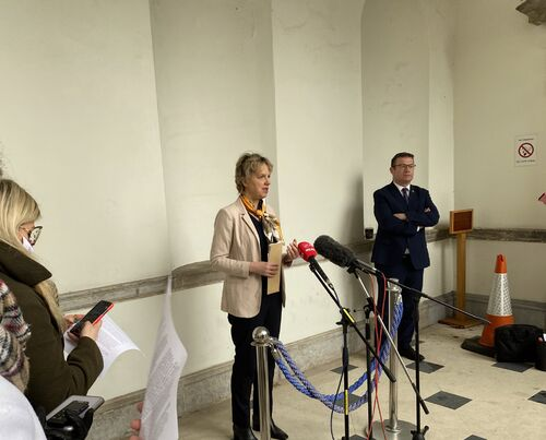Ivana launches Labour adoption and info bill 19.01.21