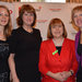 Party Chair, Loraine Mulligan, Minister Joan Burton, MEP Emer Costello and Senator Ivana Bacik