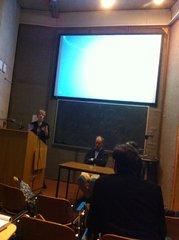 Ivana speaking at the Constitutional Convention Seminar, Trinity School of Law