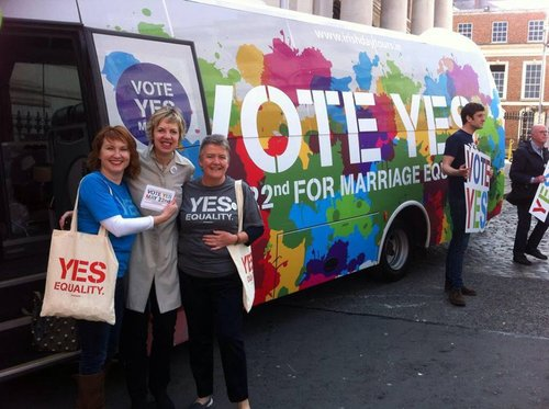 Yes Equality Campaign Bus Tour Launch