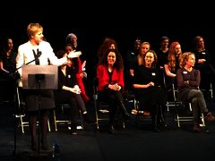 Ivana, Chair at Waking The Feminists Rally, Abbey Theatre 2015