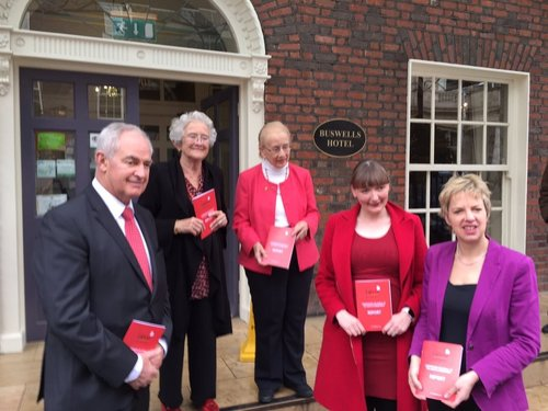Launch of the Labour Women Repeal the 8th Amendment