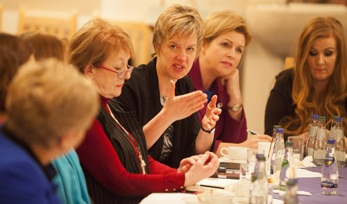 Women for Election event on visit of Nicola Sturgeon